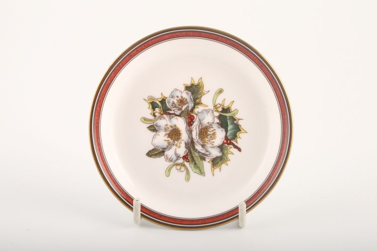 Buy Spode Christmas Rose 4 Lines In Stock Plates