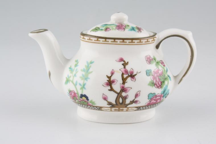 Coalport - Miniatures - Indian Tree - Teapot - high