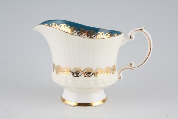 Elizabethan - Sovereign - Turquoise - Milk Jug