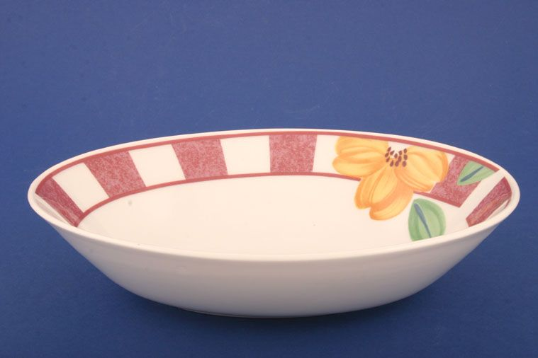 Johnson Brothers - Hopscotch - Pink - Vegetable Dish (Open)