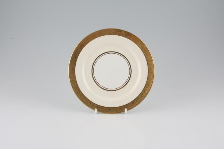 Aynsley - Helene - gold, cream, white - Tea / Side / Bread & Butter Plate