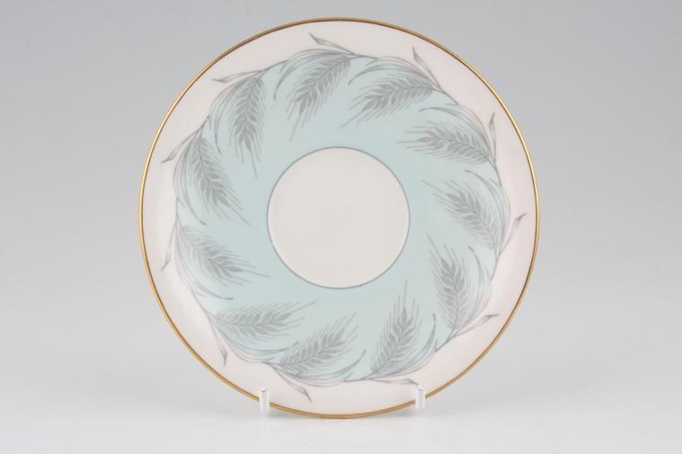 Aynsley - Blue Wheat - Tea Saucer