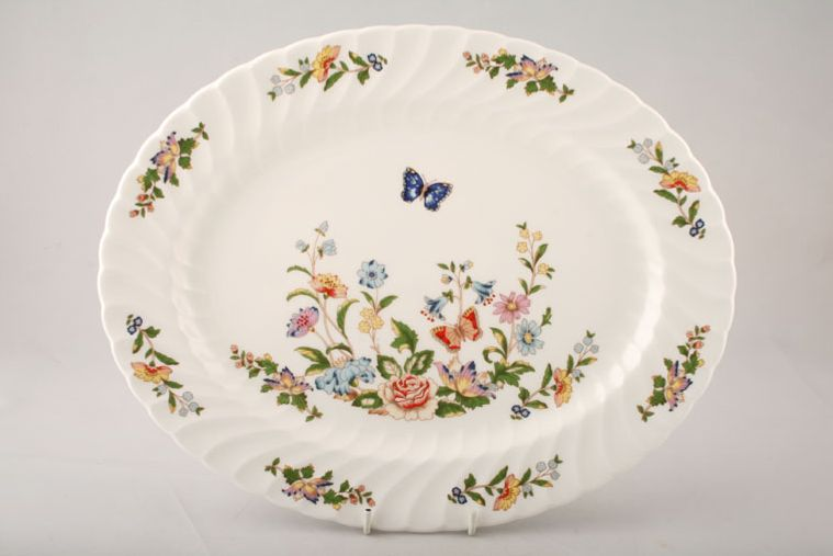 Sell To Us Aynsley Cottage Garden Swirl Shape