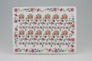 Minton - Haddon Hall - Green Edge - Placemat - 11 1/2 x 8 1/2""
