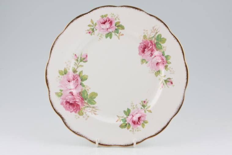 Dinner Plate American Beauty by Royal Albert & Dinner Plate from £23.15 | 16 in stock to buy now | Royal Albert ...