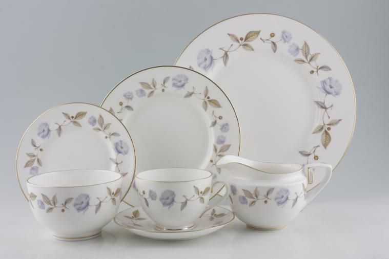 Royal Worcester - Blue Poppy & Royal Worcester Blue Poppy | 23 lines in stock
