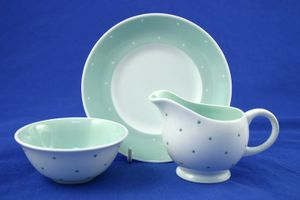 Replacement Susie Cooper - Raised Spot - Mint Green