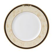 "Wedgwood - Cornucopia - Dinner Plate - 10 3/4"" - Beige with blue rim"
