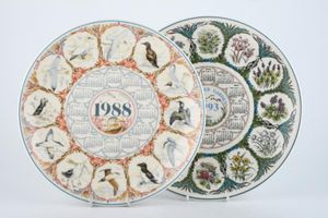 Replacement Wedgwood - Calendar Plate